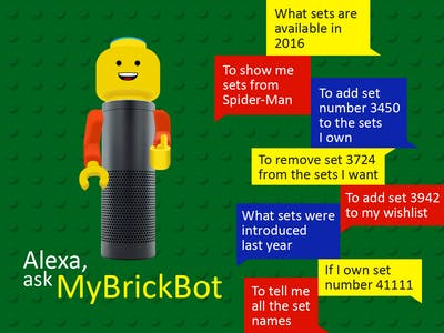 MyBrickBot - A one-stop-skill for your LEGO® needs!