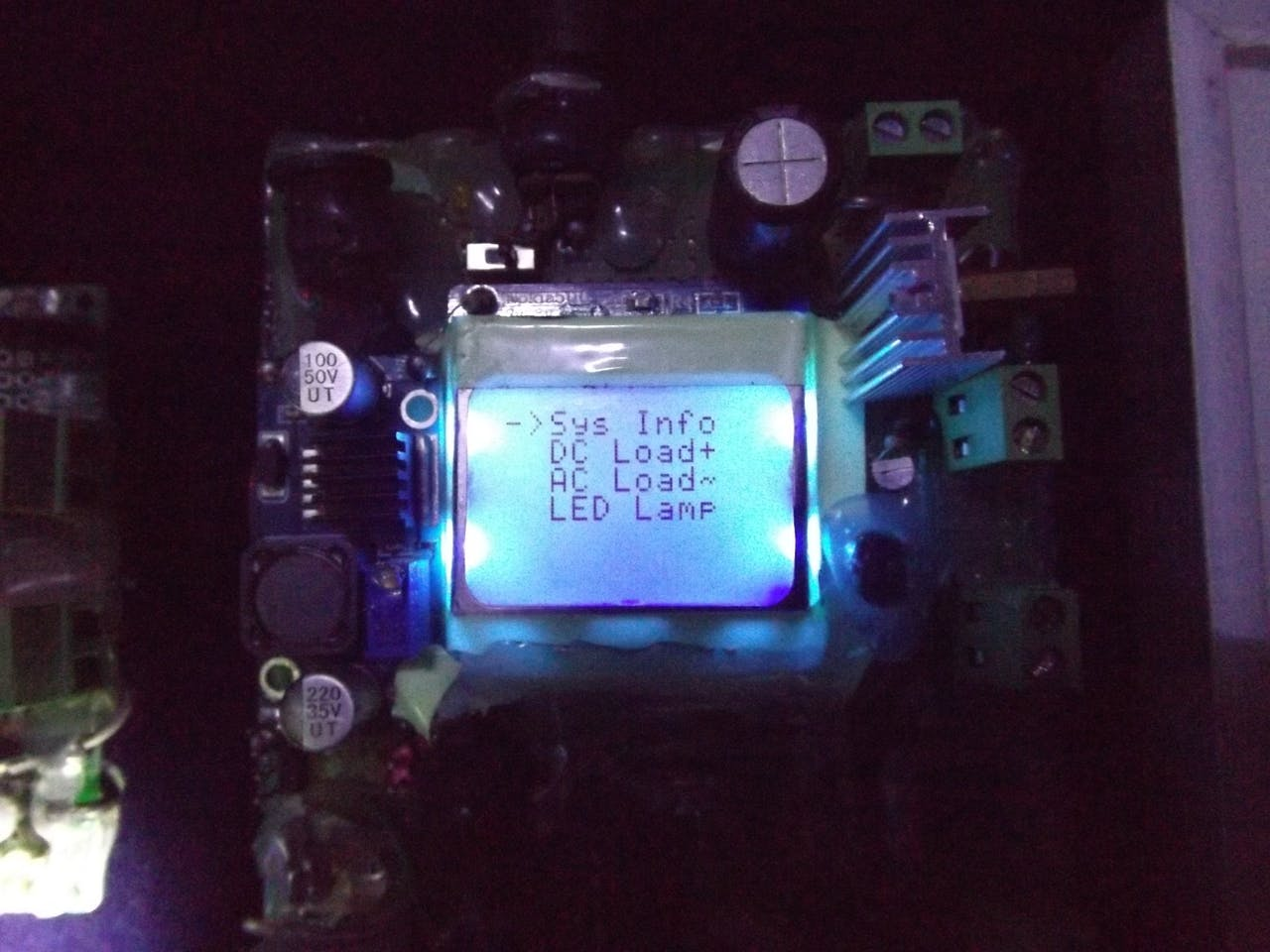 Integrated Solar Chargecontroller Inverter Powerbank Lamp Controlling Dc Motors Using Avr Microcontrollers Vishnu39s Blogs