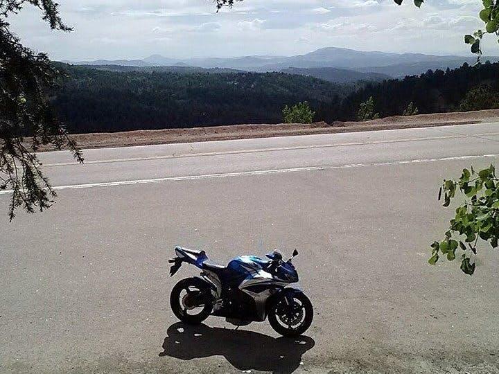 Motorcycle + Arduino IMU + Android GPS = RideData App