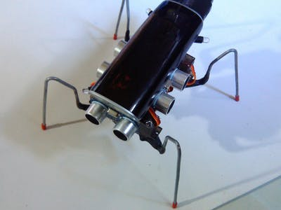 WALTER - The Arduino Photovore Insect