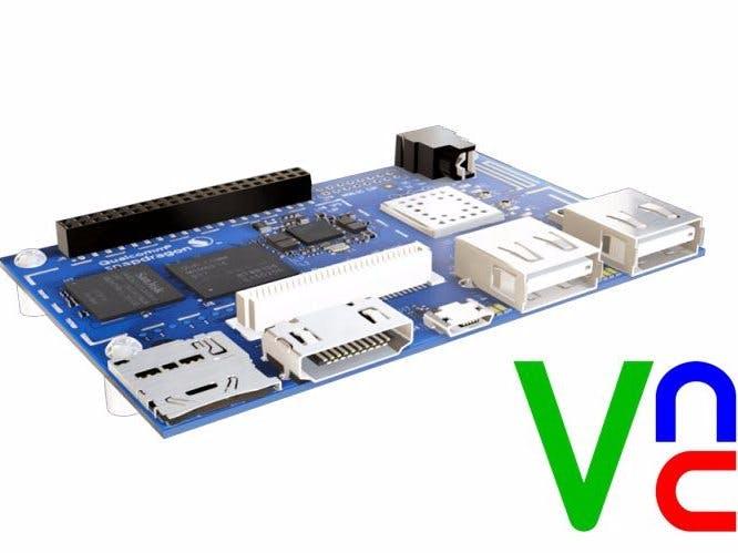 Install VNC on DragonBoard 410c