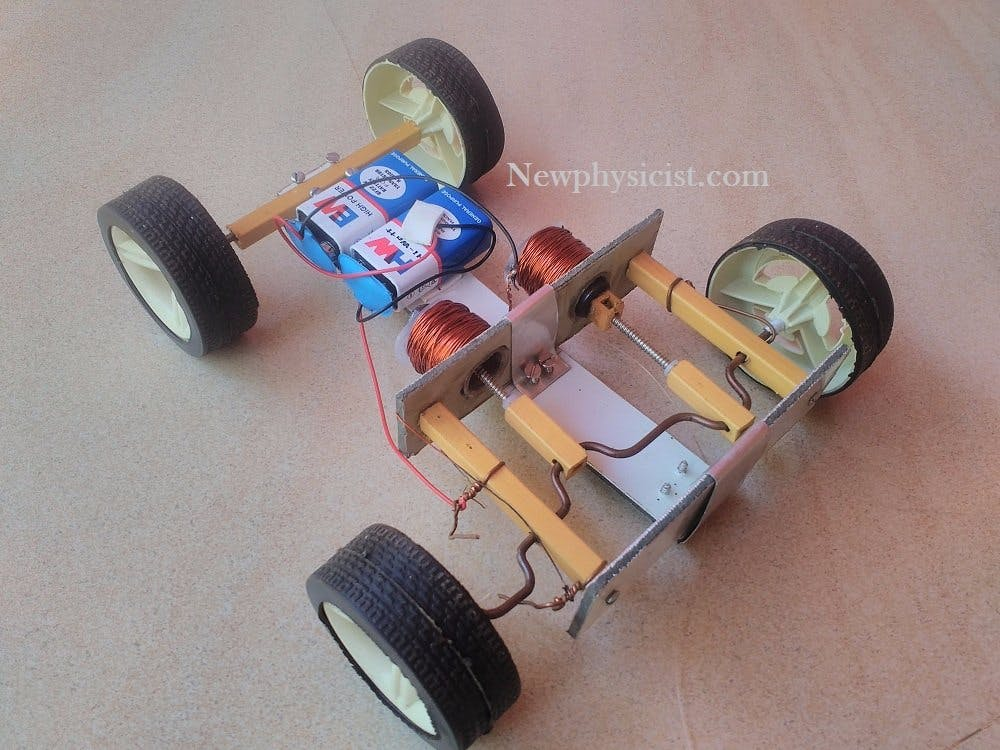 How to Make a Solenoid-Engine Car