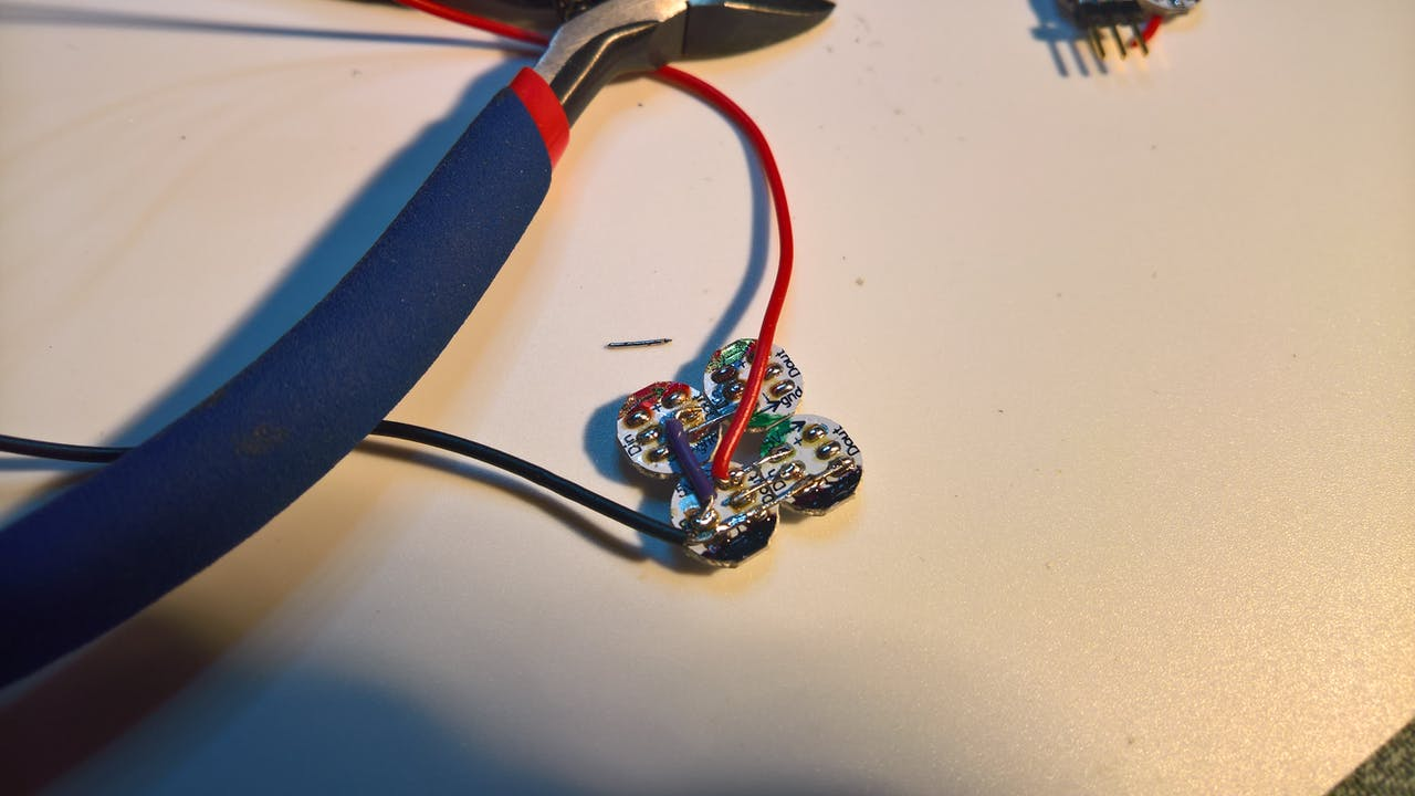Arduino Controlled Artificial Candle Lights Once Free Slowly Lower The Fixture To Expose Electrical Wires