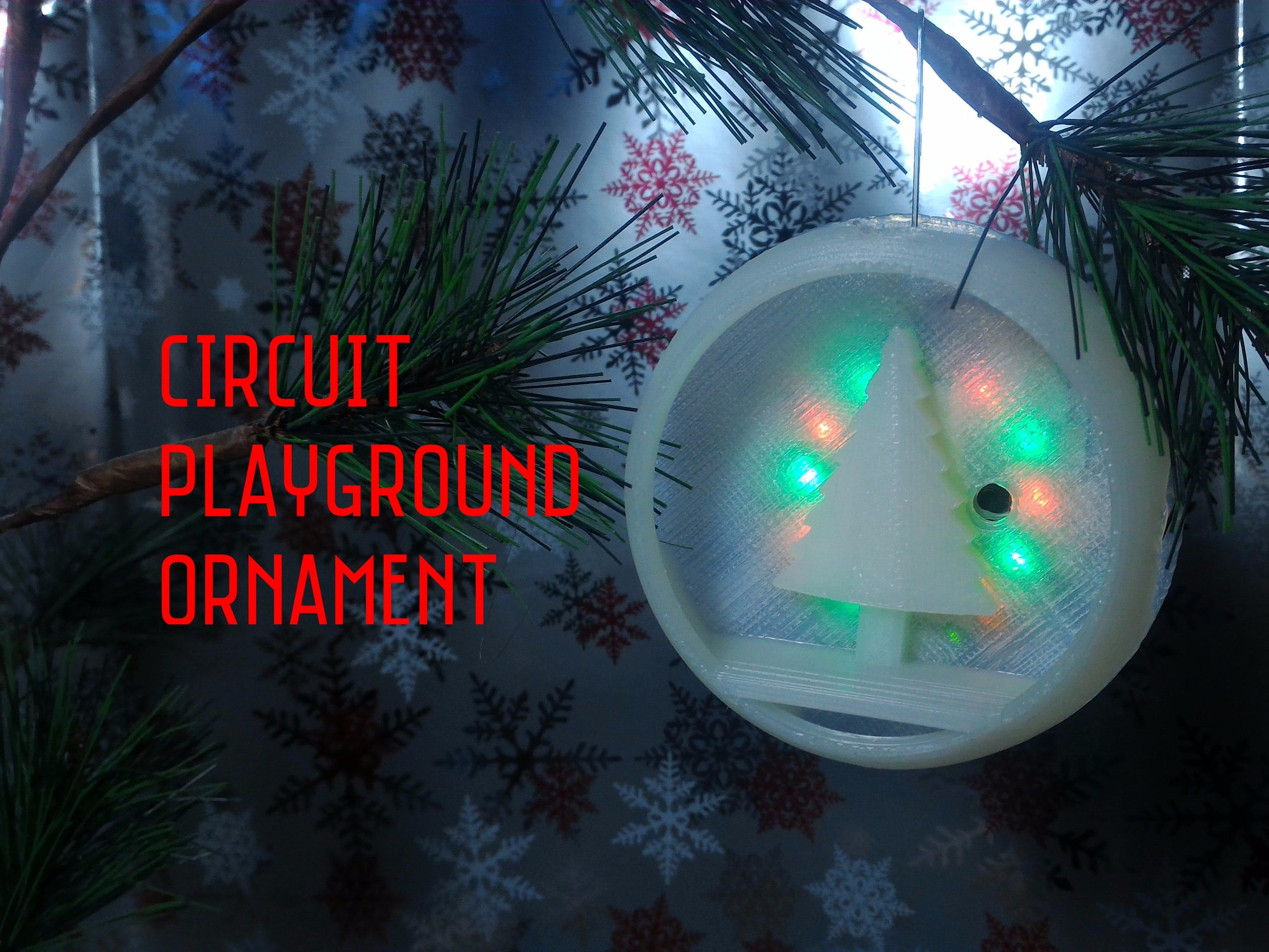 Circuit Playground Ornament