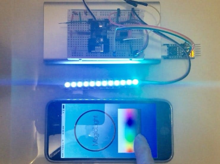 Bluetooth Controlled LED Light Strip - Part 2 of 2