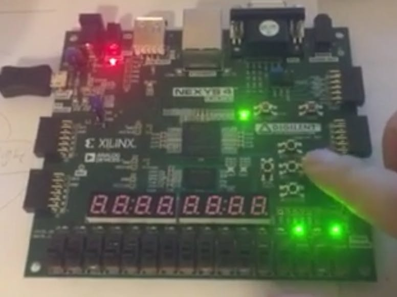 FPGA Combination Locker (VHDL) on Nexys4 Board
