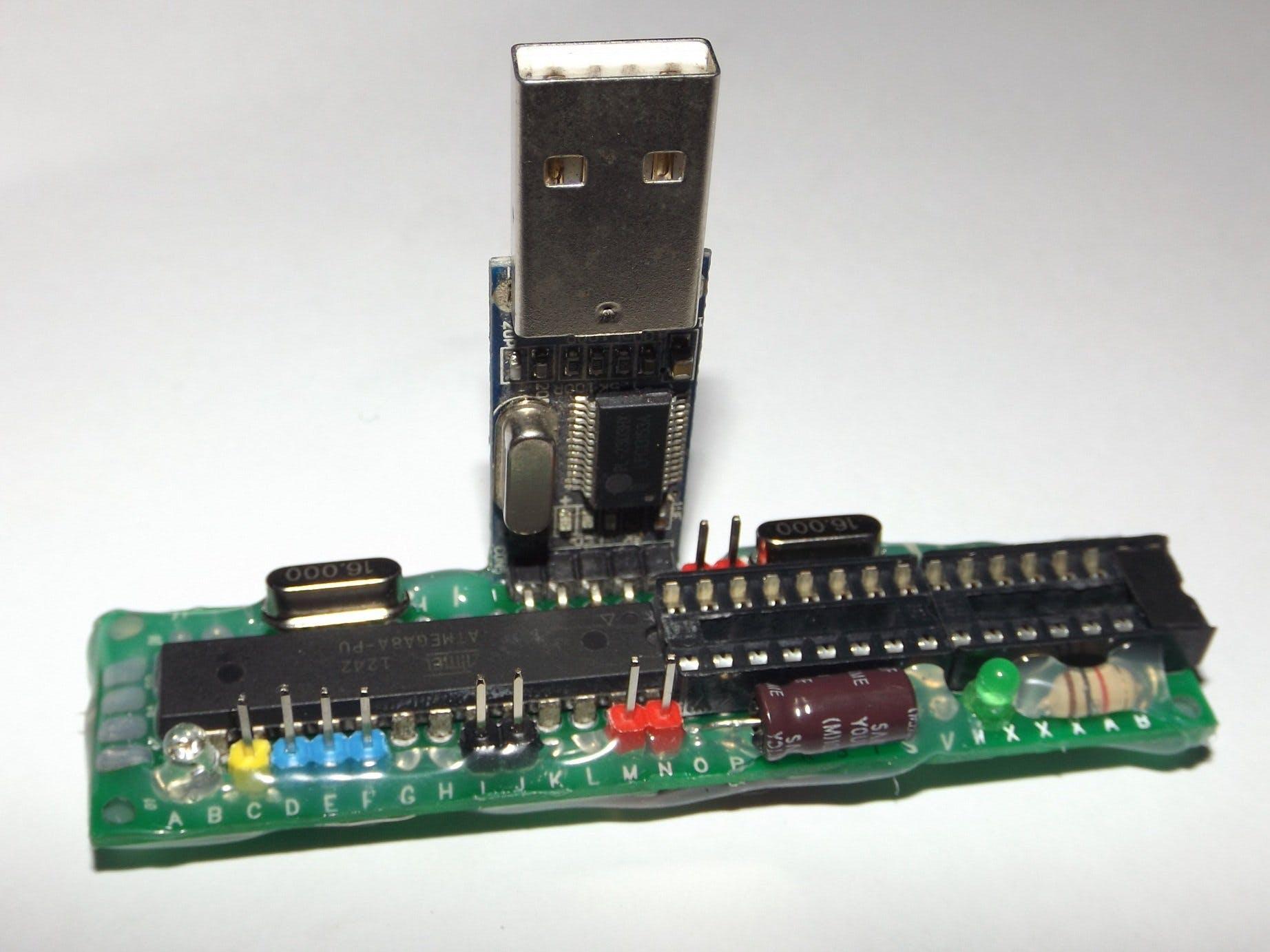 Arduino Clone Breeding T-Rig