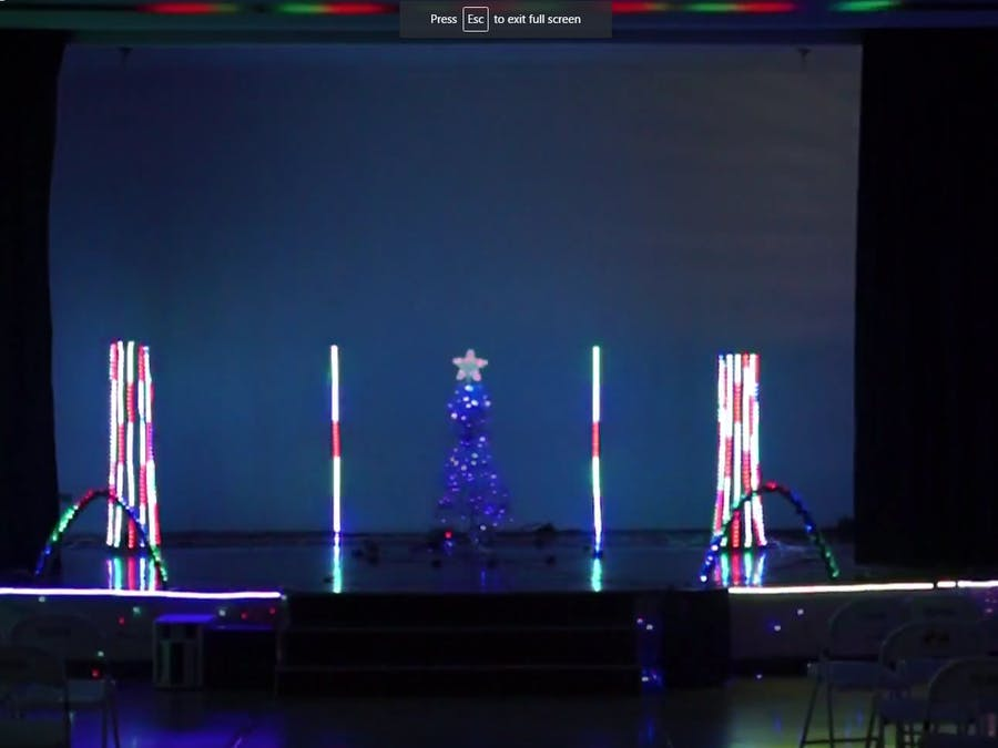 Arduino + Vixen + School = Awesome Christmas Light Show!