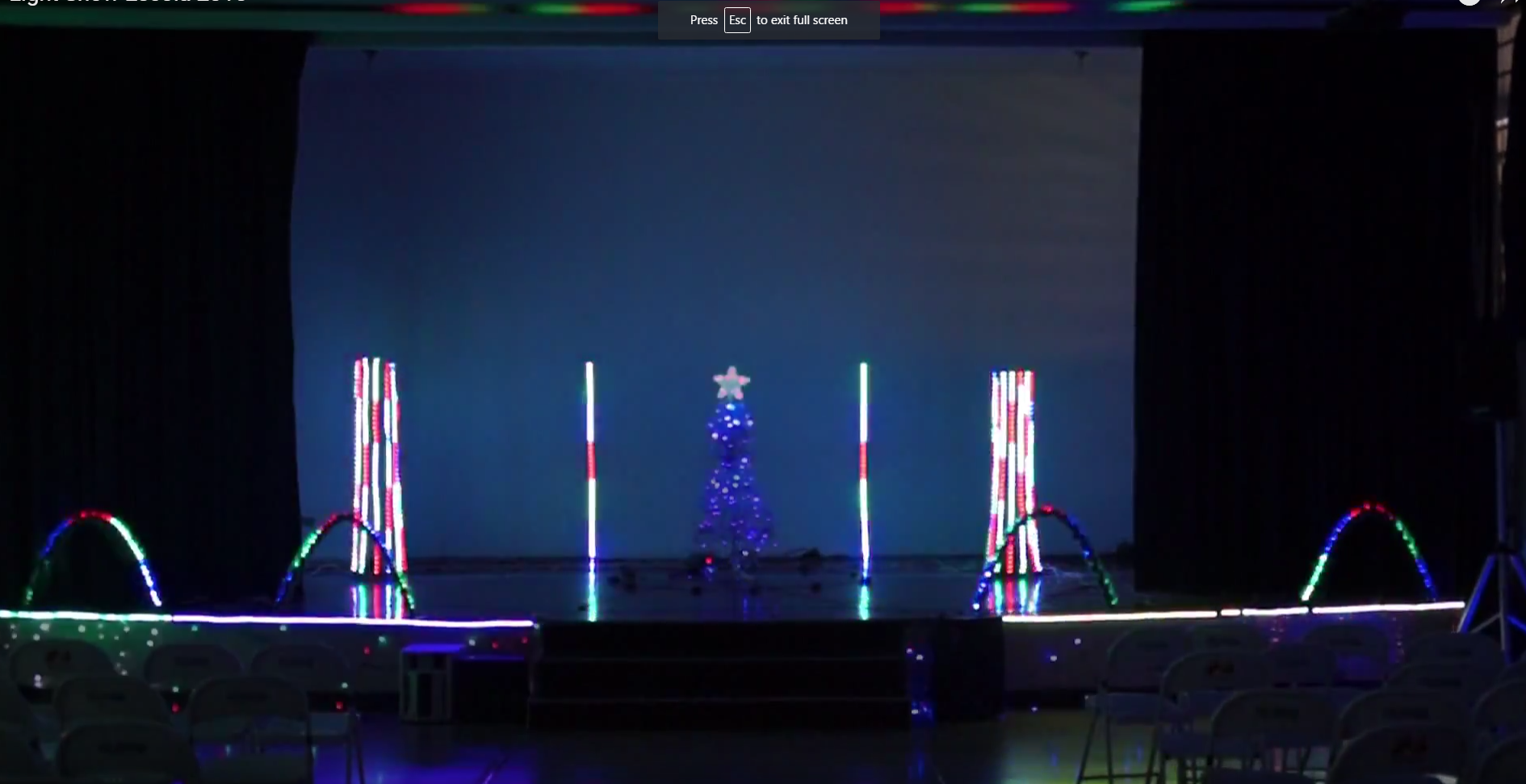 Arduino + Vixen + School U003d Awesome Christmas Light Show!