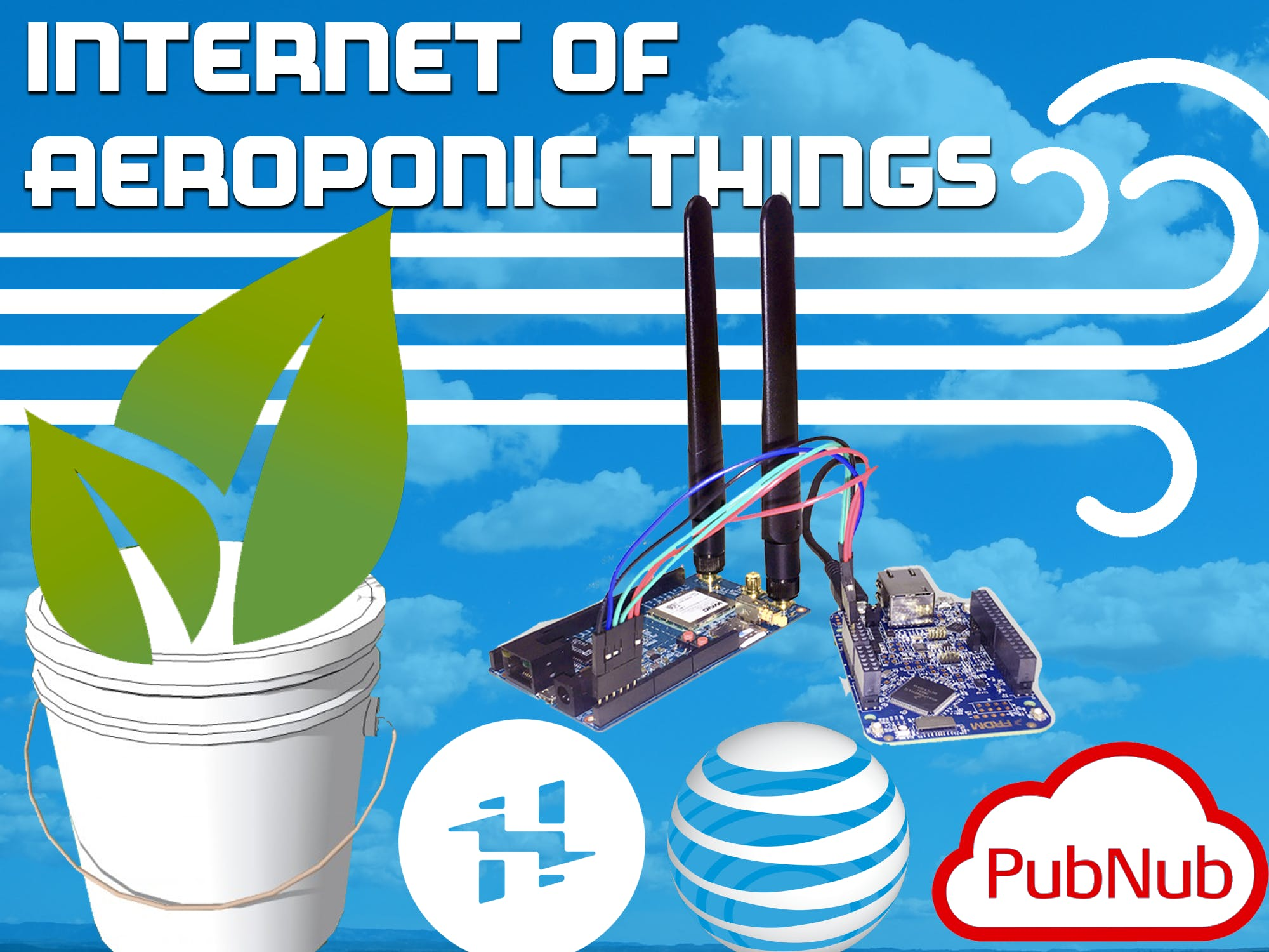 Internet of Aeroponic Things