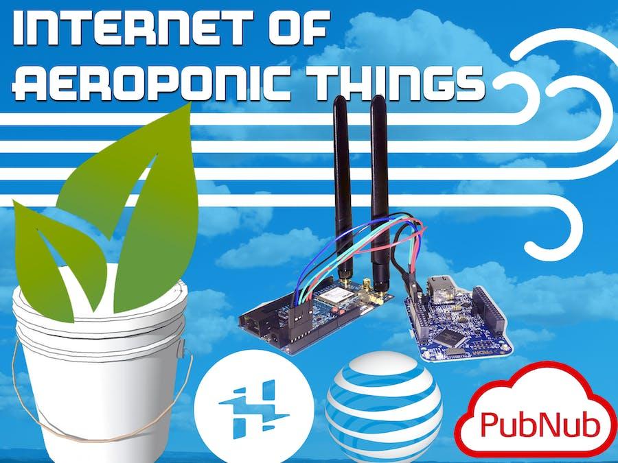 Internet of Aeroponic Things