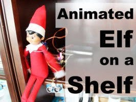 Animated Smart Elf with Raspberry Pi Servo Controller