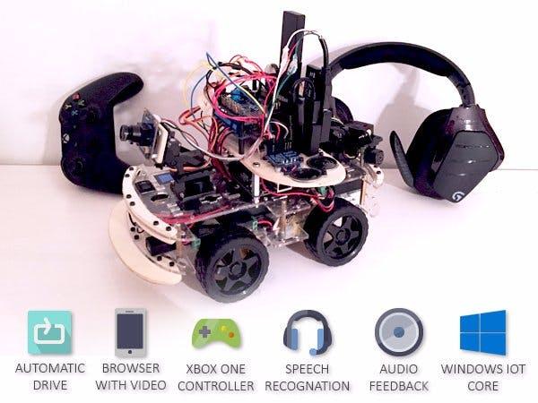 Multicontrollable robot car