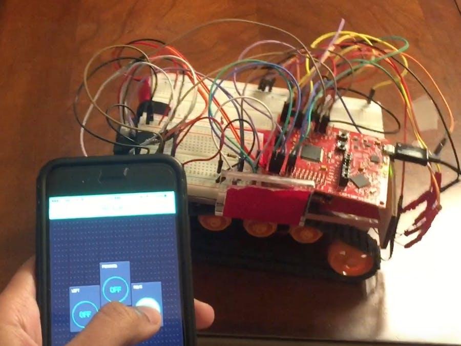 Internet-controlled RC Car