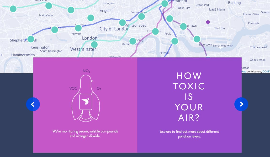 @PigeonAir, original inspiration for Smart City Air Monitor