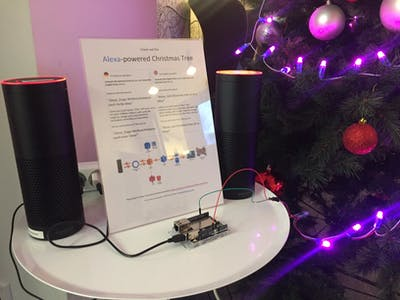 Alexa-Powered Christmas Tree