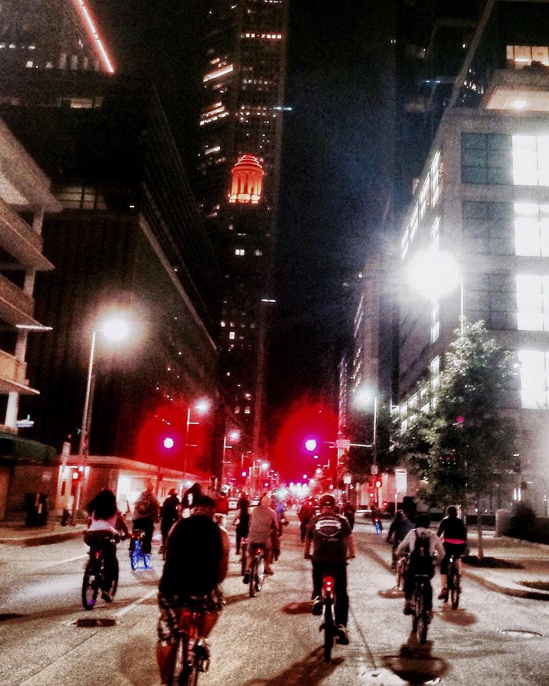Critical Mass in Downtown Houston