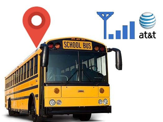 School Bus Heads Up