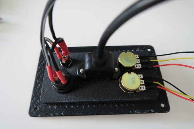 Back control panel