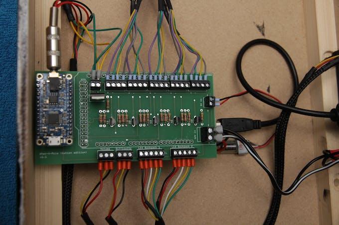 PCB wiring detail