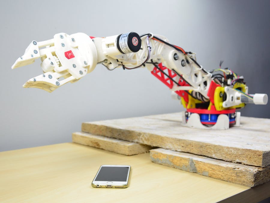 Open Source, Connected Robot Arm