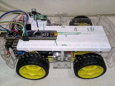 Car Controlled By Hands Movements Employing MATLAB