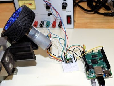 PRU PID Motor Speed Controller with Beaglebone Green