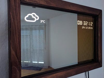 Windows 10 Core IoT Magic Mirror