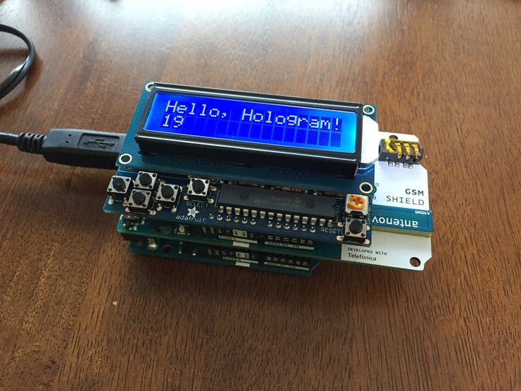 Prototype working and running off of USB power