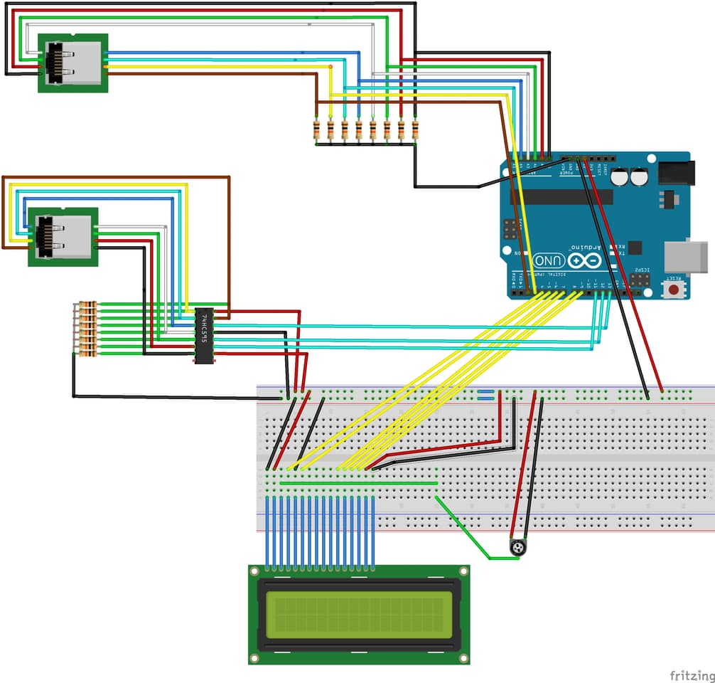 Cable Tester RJ45 (Ethernet) - Hackster.io