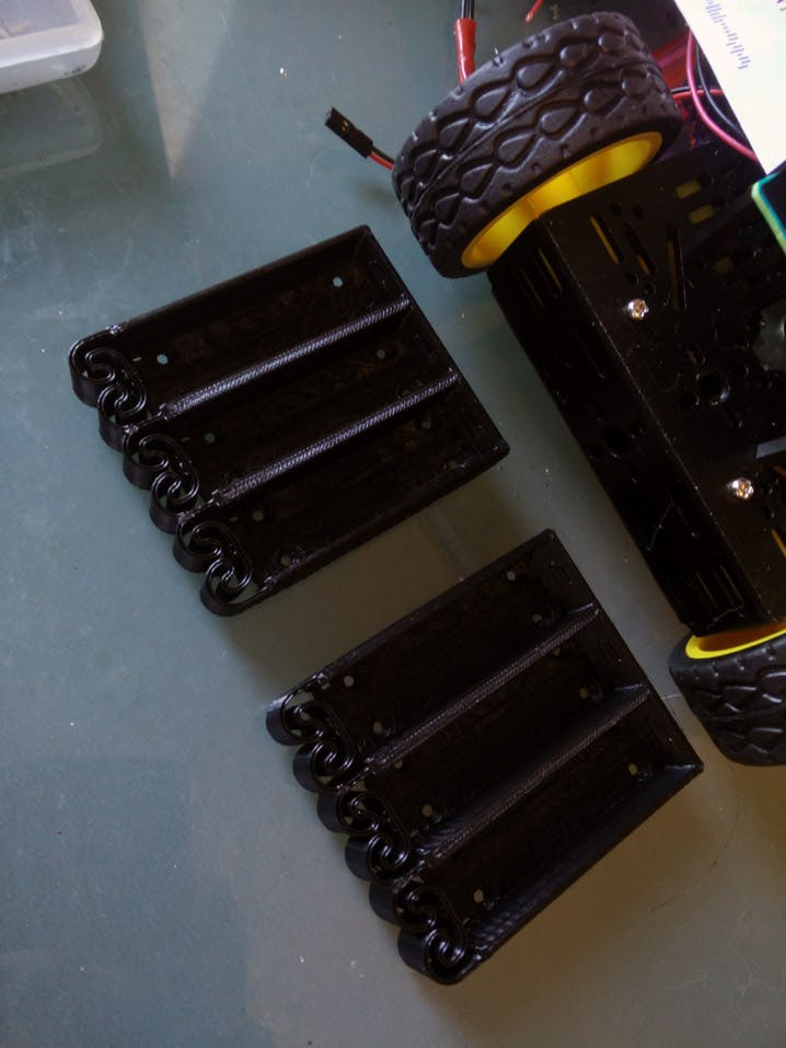 3d Printed battery holders