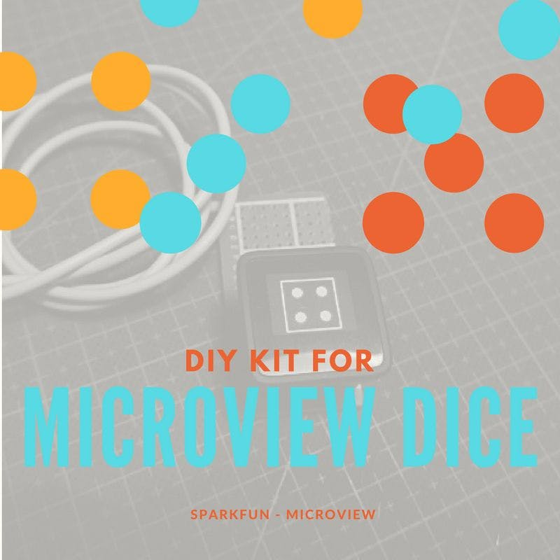 MicroView Digital Dice