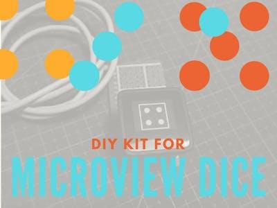 MicroView Digital Dice