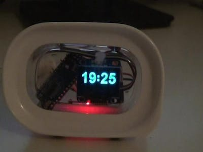 DiWa Arduino Project #2b: OLED Digiclock BIG Numbers