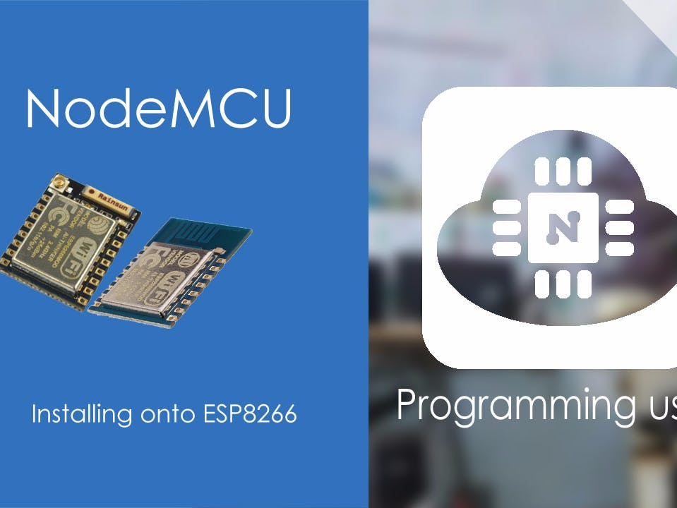 Flash NodeMCU Firmware to ESP8266