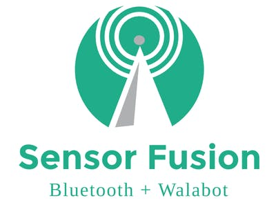 Sensor Fusion with 3d imaging and bluetooth