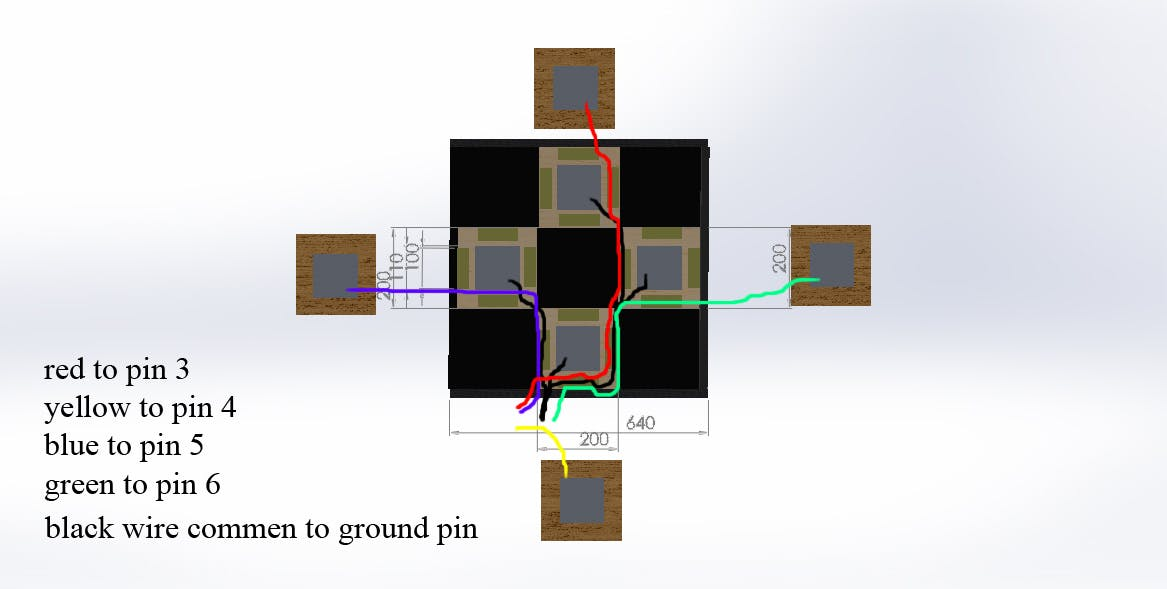 shown how to wire