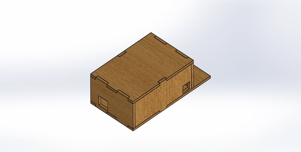 assembly of box