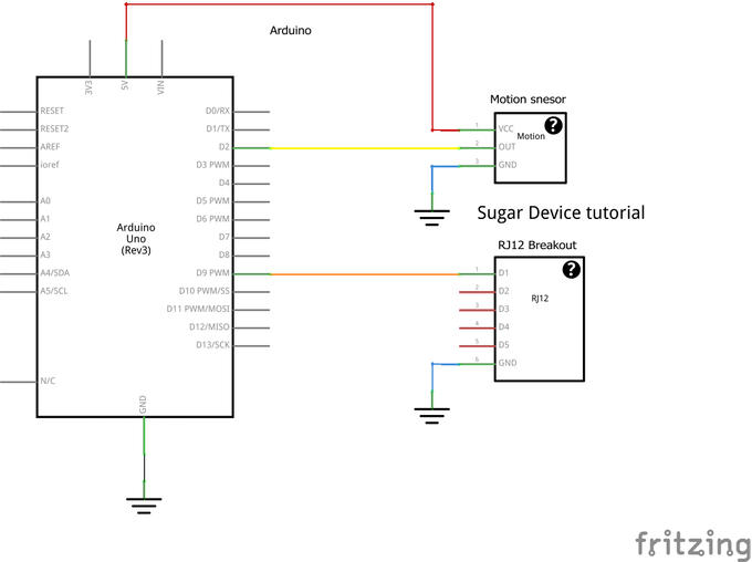 Schematic for control circuit