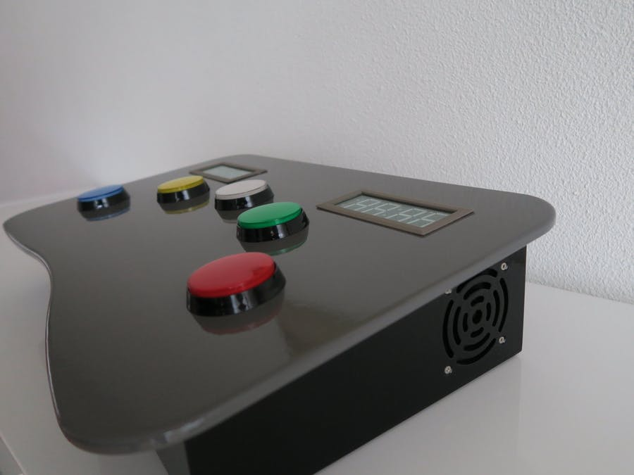 Whac-A-Mole (Button Edition)