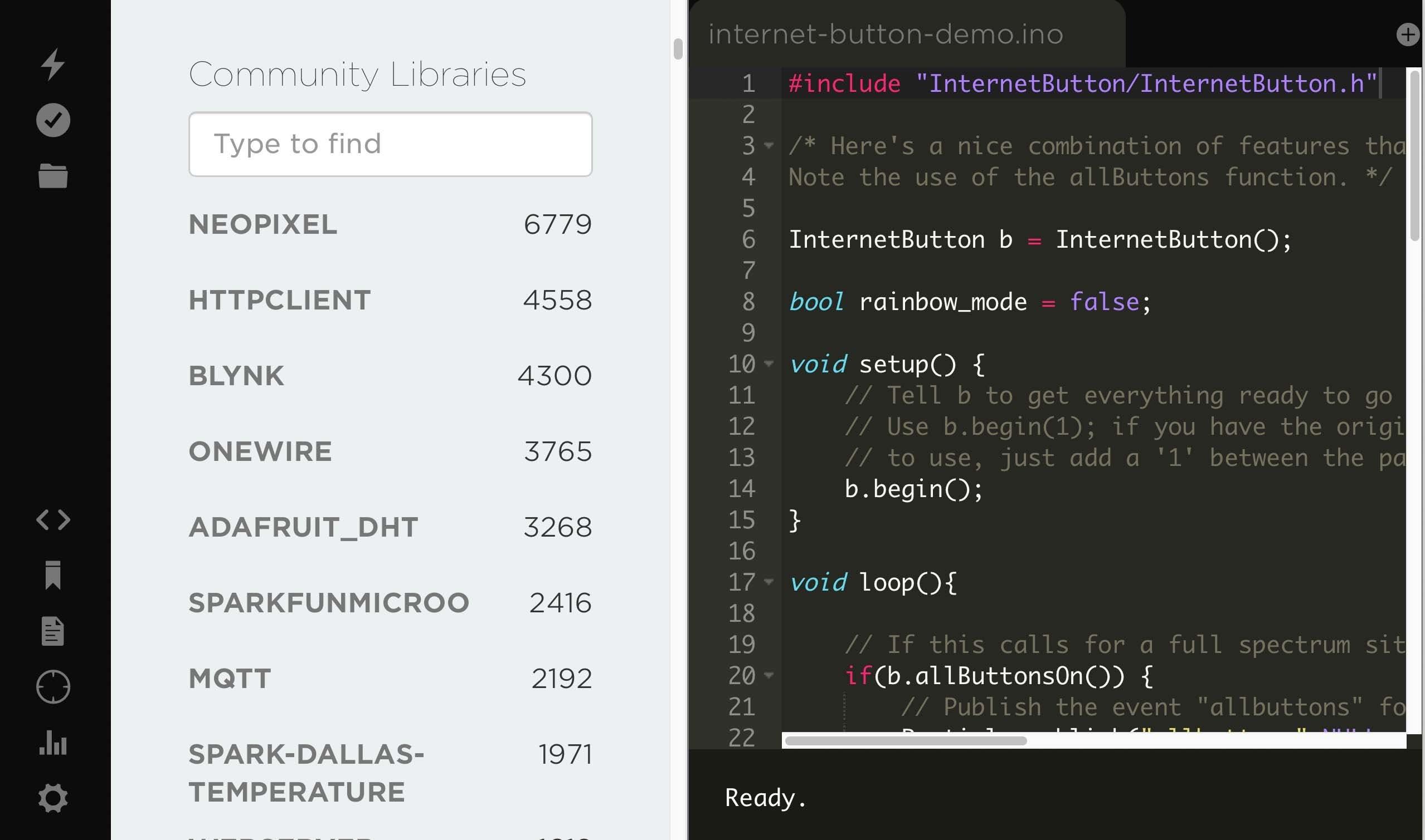 Run arduino code in your Raspberry Pi