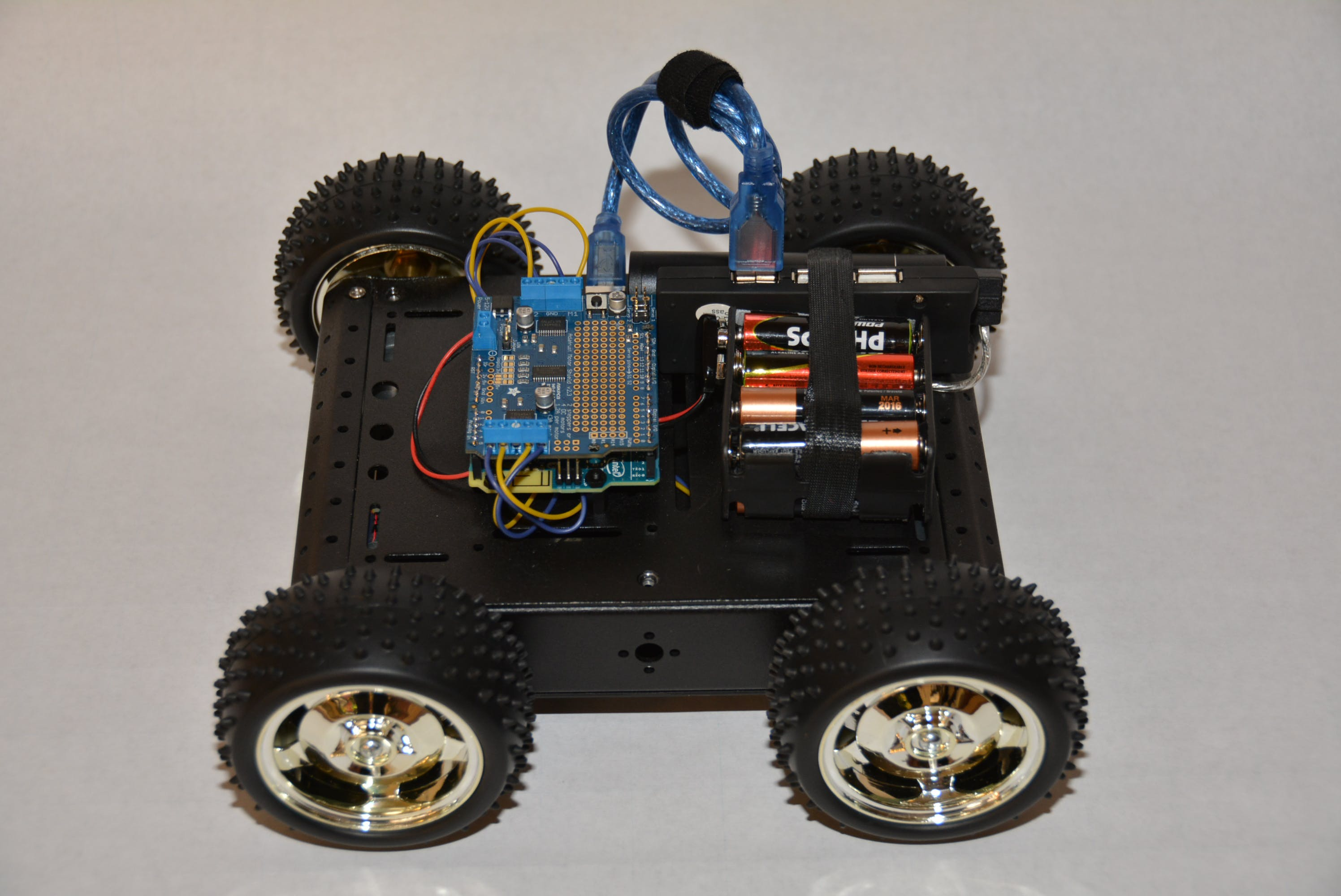 Robot Rover -  iPhone controlled using Blynk Joystick