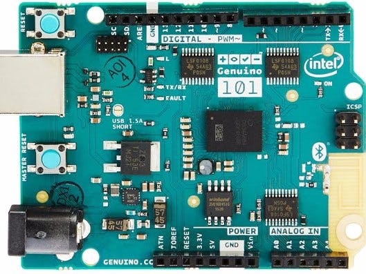 Upgrading the firmware & library of Arduino 101 - Arduino