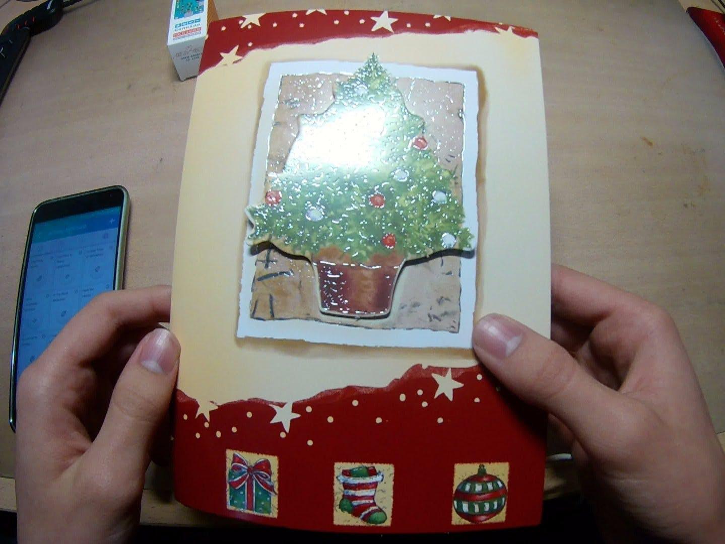 Hackable Christmas Greeting Card