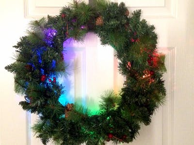 Holiday Wreath Automation