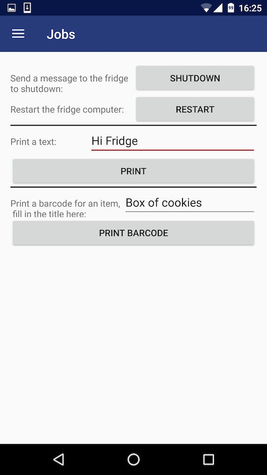 Smart Fridge - Hackster io