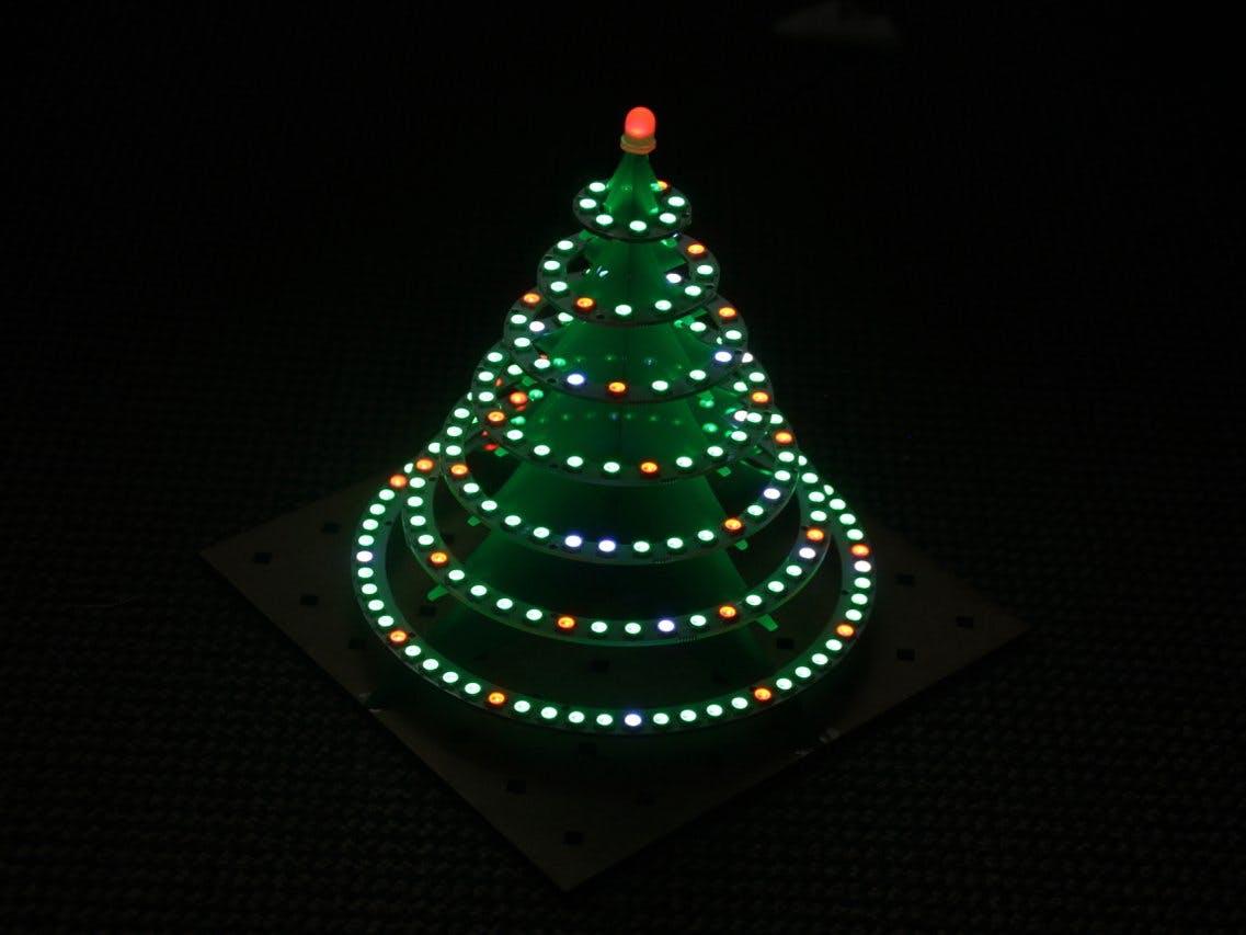 WS2812 Christmas tree