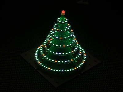 WS2812 Christmas tree