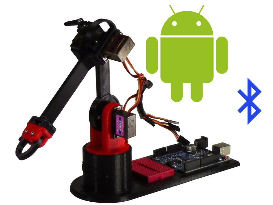 Control Arduino Robot Arm with Android App - Arduino Project Hub