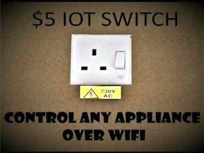 DIY WiFi Smart Plug